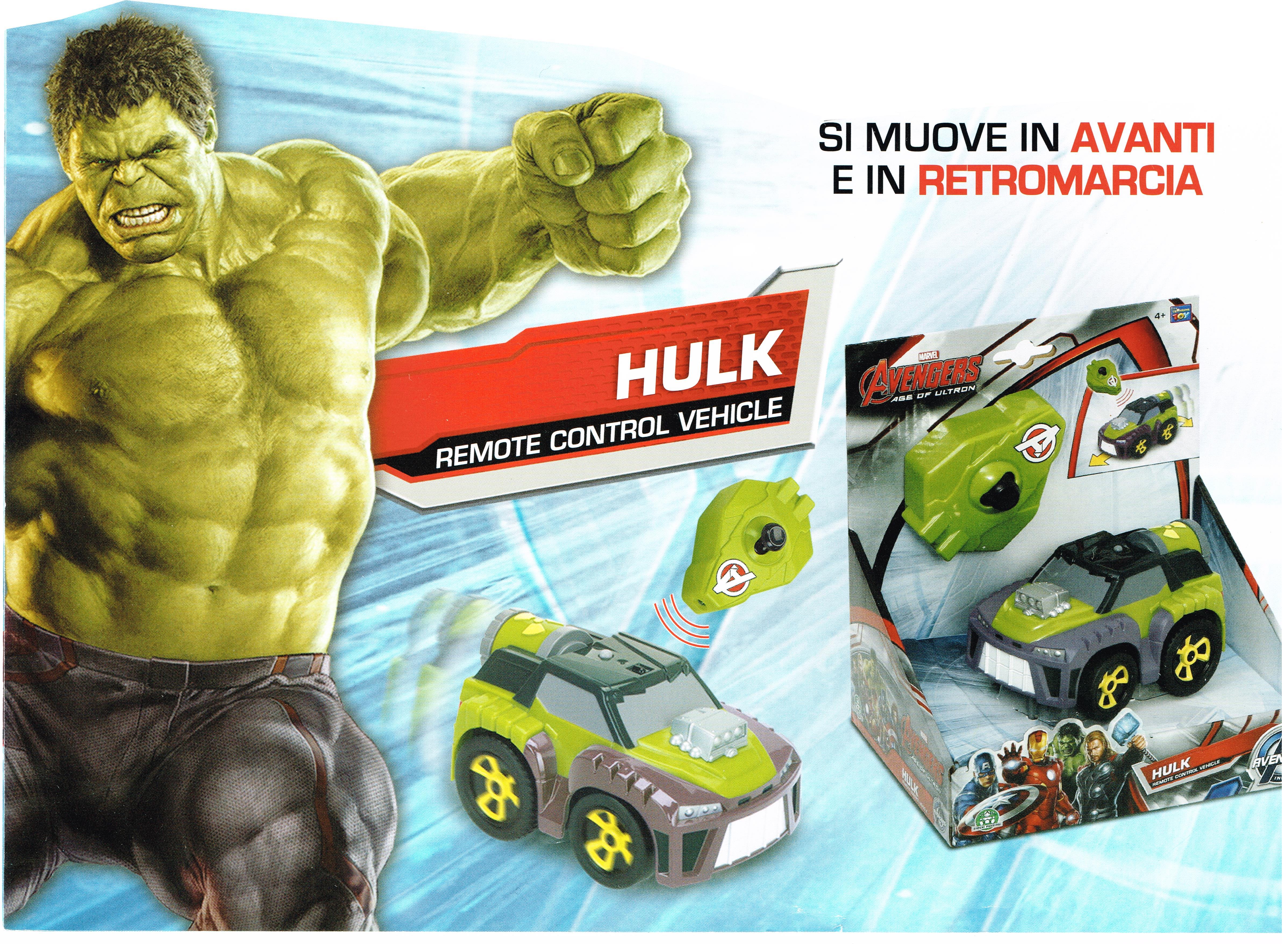 Giochi con hulk